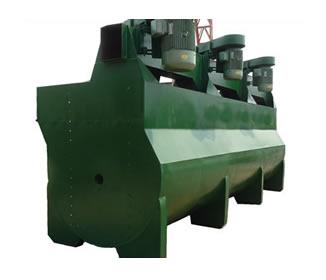 浮选机广泛用于矿产开发中的分选作业