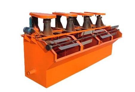 河南中焦厂家生产的sf浮选机图片